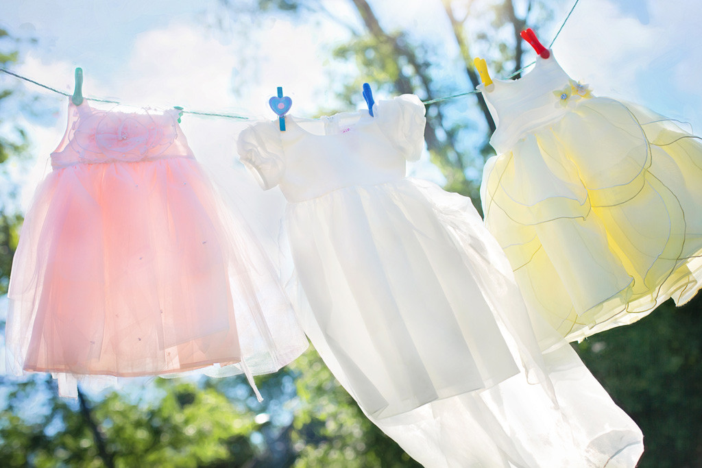 洗濯しても衣服を色落ちさせない方法