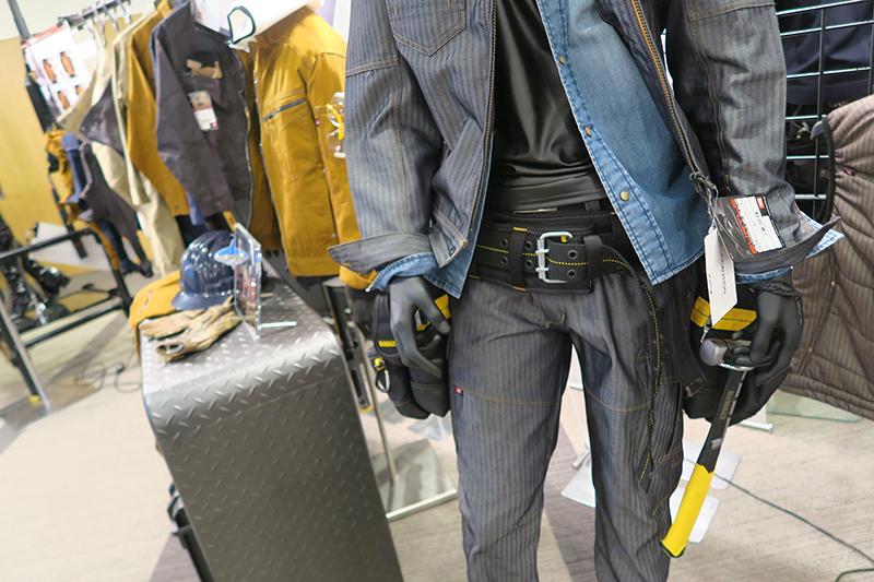 バートルの1501シリーズは人気のヘリンボーン作業服