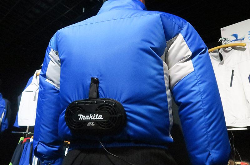 自重堂×マキタの最新エアコンジャケット
