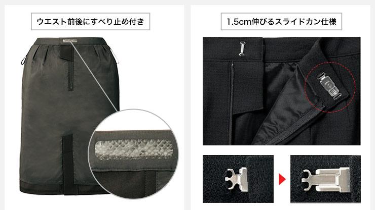 スカートの特徴説明