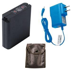 空調服専用大容量バッテリー+急速AC充電アダプターセット/LIULTRA1