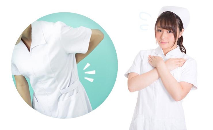 気になる白衣の透け