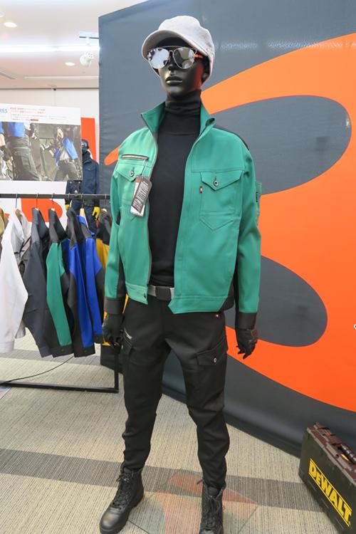 バートルの2017年最新のストレッチ作業服