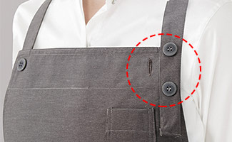 首掛け型胸当てエプロンを選ぶ際のポイント2
