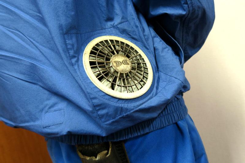 天谷様の空調服のファン