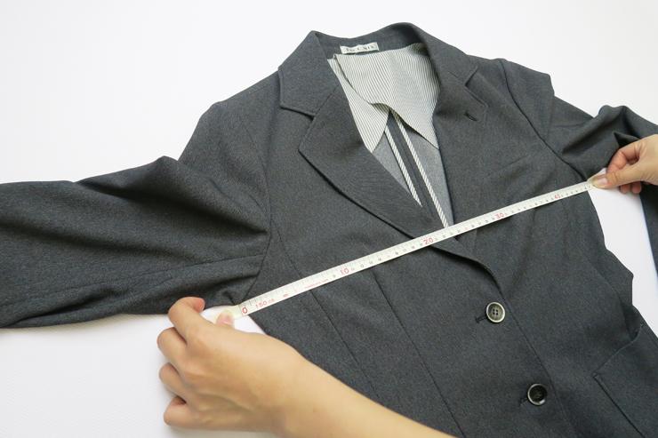 ジャケット胸囲